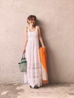 N21 numero ventunoのワンピースを使った紗栄子のコーディネートです。WEARはモデル・俳優・ショップスタッフなどの着こなしをチェックできるファッションコーディネートサイトです。