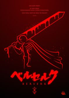"""Berserk Poster"" by mightybeaver.deviantart.com on @DeviantArt"