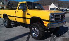 hopped up 1990 dodge ram 150 Dodge Pickup, Dodge Ram Lifted, My Pickup, Old Dodge Trucks, Lowered Trucks, Dodge 300, Ram Trucks, Pickup Trucks, Dodge Cummins Diesel