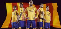 Wallpaper Barcelona Away 2016