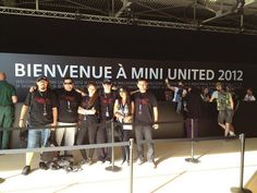 MINI United Team Turkiye checked-in MINI United 2012 Le Castellet France.