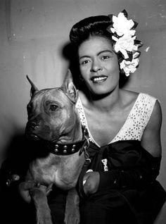 Billie Holiday by William P.Gottlieb, 1940.