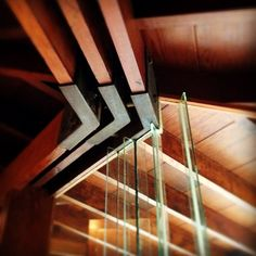 Lautner's Shaffer House detail