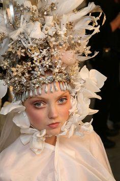 hauteccouture:  Lily Cole @ Christian Lacroix haute couture S/S 2007