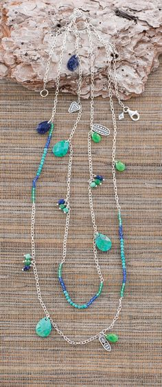 Earth and Sky Necklace-Silpada