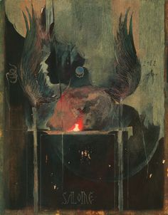 Denis Forkas Kostromitin: Study for Salome, 2012.