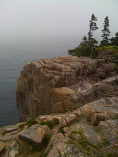 Otter Cliff, Acadia National Park, Maine (Photograph by Dean Mead)