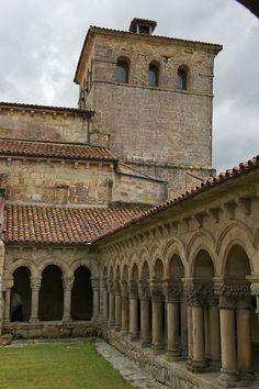 Colegiata. Santillana del Mar. Cantabria. Spain