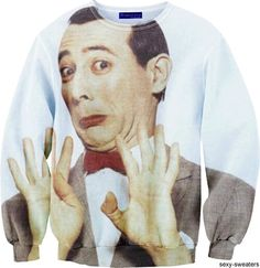 Pee-wee Herman sweater♥
