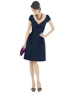 Alfred Sung Bridesmaid Dress D500
