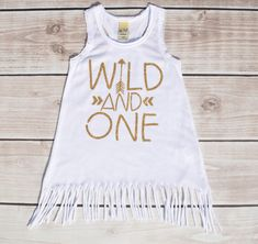 First birthday outfit girl birthday dress wild and by Our5loves