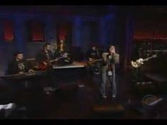 Holy crap this is ten years ago and Ryan looks like he is twelve.  Ryan Adams: So Alive [The Late Show] - YouTube