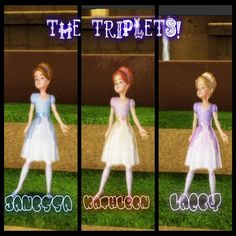 The Triplets Barbie In The 12 Dancing Princesses