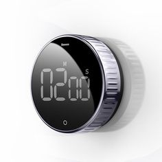 Rotation Countdown Timer with LED Round Screen Digital Display, Rotate – GizModern Digital Timer, Timer Clock, Study Timer, Pomodoro Timer, Time Timer, Kitchen Clocks, Kitchen Timers, Kitchen, Recipes