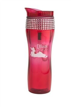 Who doesn't love a blinged out coffee mug!?  Divas Bling Mug-Pink by Divas Snow Gear only $18.99!