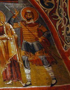 Fresco in Karanlik Church, Göreme, Turkey (1000-1099)