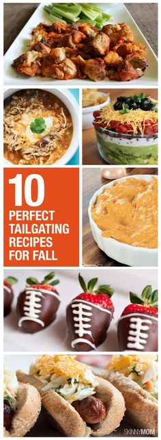 Try out these healthy tailgating recipes this weekend!