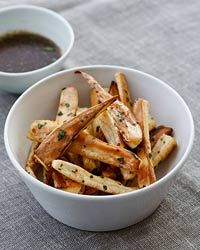 Roasted Parsnips with Mustard Vinaigrette Recipe from Food & Wine