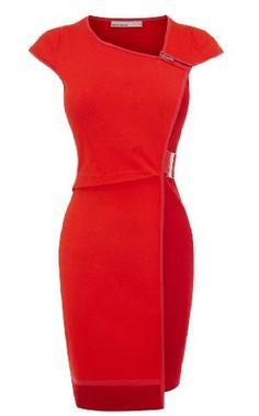 Karen Millen Contrast Knit Dress