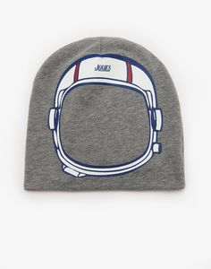 Inside out Space Reversible Hat | Joules UK