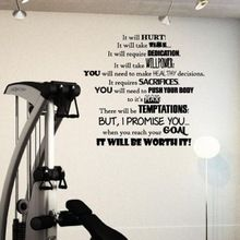 Like and Share if you want this  Fitness PVC Wall Decal Fitness Goals Motivation Gym It will Hurt worth it Lettering Wall Sticker Health Clud Bedroom Home Decor     Tag a friend who would love this!     FREE Shipping Worldwide     Buy one here---> http://oneclickmarket.co.uk/products/fitness-pvc-wall-decal-fitness-goals-motivation-gym-it-will-hurt-worth-it-lettering-wall-sticker-health-clud-bedroom-home-decor/