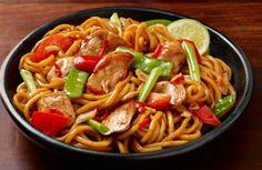 chicken honey soy with hokkien noodles recipe