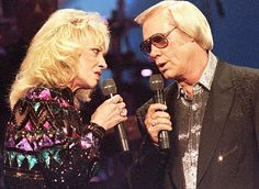 Tammy Wynette & George Jones - sad day in country music- possum will forever be missed.