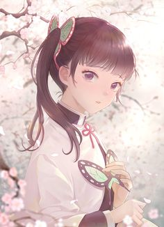 For all kinds of moe art. Especially cute anime girls and boys being cute. Content from anime, manga,. Anime Angel, Anime Neko, Kawaii Anime Girl, Fan Art Anime, Anime Art Girl, Anime Girls, Demon Slayer, Slayer Anime, Tamako Love Story