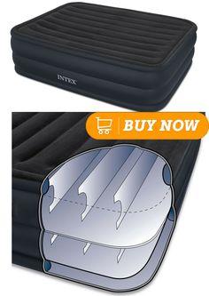 most comfortable air mattress intex classic downy airbed queen air mattress pinterest most mattress and air mattress