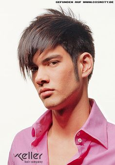 Men's Hairstyles with bangs 2015