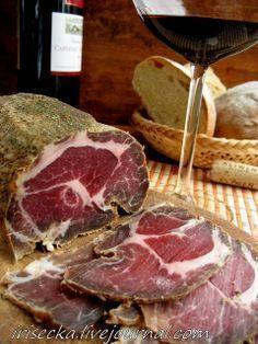 Najchutnejšie recepty - Part 75 Alcohol Recipes, Raw Food Recipes, Meat Recipes, Russia Food, Homemade Jerky, Food Tags, Smoking Recipes, Charcuterie Recipes, Smoking Meat