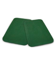 Green Protective Mat - Set of Two