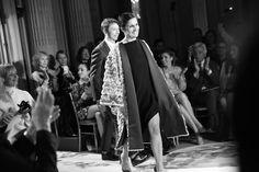 Maria Grazia Chiuri et  Pierpaolo Piccioli, directeurs artistiques de Valentino