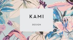 Simple black sans serif font in white/off white rectangle. An on-trend or classic polka dot etc pattern in background
