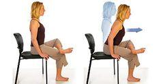 3 ejercicios para sanar el dolor del nervio ciático, cadera y espalda. - Saludable.Guru