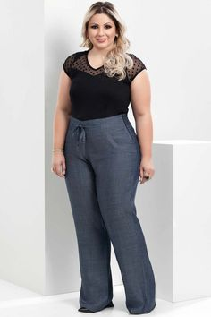 Calça Carry Plus Size                                                                                                                                                                                 Mais