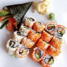 grafika food and sushi
