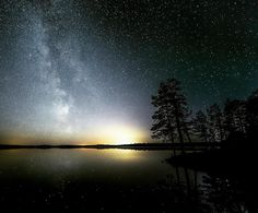 """Relaxing spot 🌌"" © Jani Ylinampa Based in Finnish Lapland (quote) via instagtam.com"