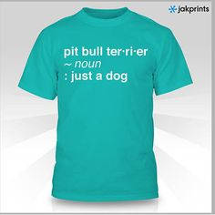 Pit Bull Definition T-Shirt | Jasmines House, Inc