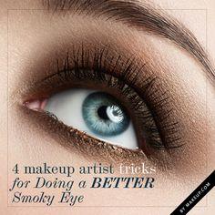 4 Makeup Artist Tricks for Doing a Better Smoky Eye • Makeup.com