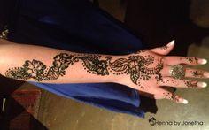 Henna By Jorietha  Henna designs on hands, feet, wrist, arm, neck, back etc  Facebook: www.facebook.com/hennabyjorietha Twitter: @hennabyjorietha Website: http://www.jorietha.com E-mail: henna@jorietha.com