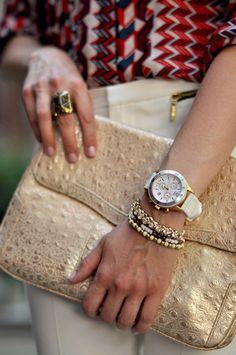 White + Gold #TimexStyle