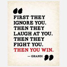 Ghandi words