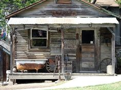 rustic little shed