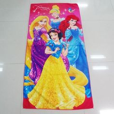 70*140CM Cartoon Elsa Anna Minions boys girls Towels baby bath towel Children Beach Swimming Towel Princess quick dry towel