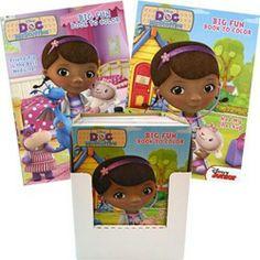 Doc McStuffins Party Supplies, Doc McStuffins Coloring Books