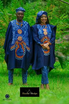 Women Agbada Styles Board in West Africa Traditional Attire Category Nigerian Men Fashion, Latest African Fashion Dresses, African Print Dresses, African Print Fashion, Africa Fashion, African Dress, Couples African Outfits, Couple Outfits, African Attire