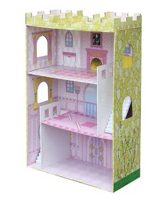 Take a look at this Dream Castle Dollhouse by Badger Basket on #zulily today!