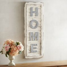 Home Shutters Wall Decor White