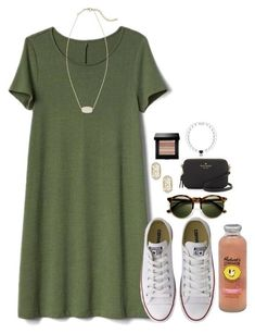 #summer #outfits / sneakers + dress
